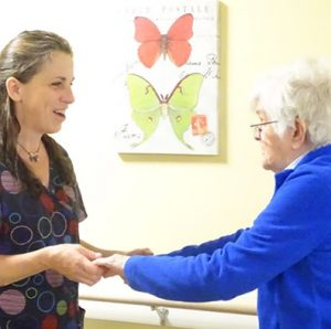 Vermont Memory care therapy session takes place
