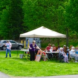 Residents of Windsor senior apartments enjoy time outdoors