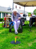 Senior living in Windsor hosts outdoor games for residents