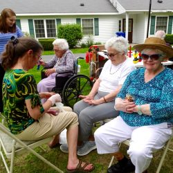 Residents enjoy pampering at senior living in Windsor