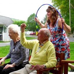 Games at nursing home in Windsor