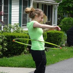 Retirement community in Windsor has fun with hula-hooping