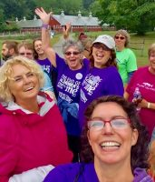 Walk for the cause at Alzheimer care center in Vermont