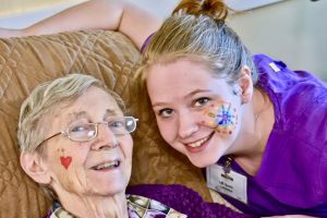 The bond between a resident and caregiver is strong
