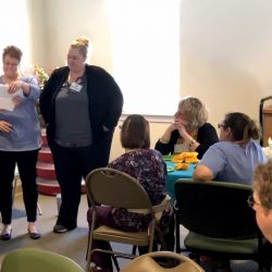Memory care center in Vermont holds staff celebration
