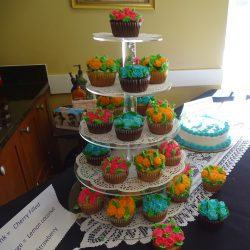 Tasy cupcakes at retirement home in Windsor