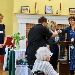 Senior living center in Windsor celebrates staff