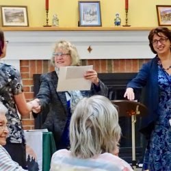 Staff congratulated at assisted living center in Windsor