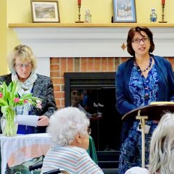 speech given at senior living in Windsor