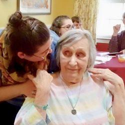 residents at senior living community in Windsor