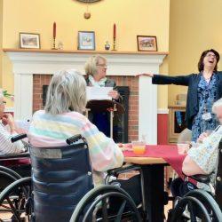 Celebration at retirement village in Windsor