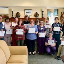 Winners at retirement community in Windsor
