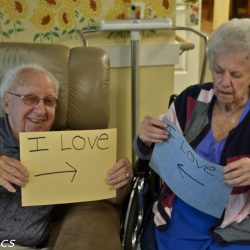 married couple in retirement home in Windsor