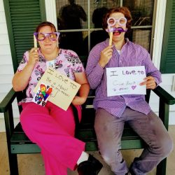 staff members expressing their happiness at retirement village in Windsor