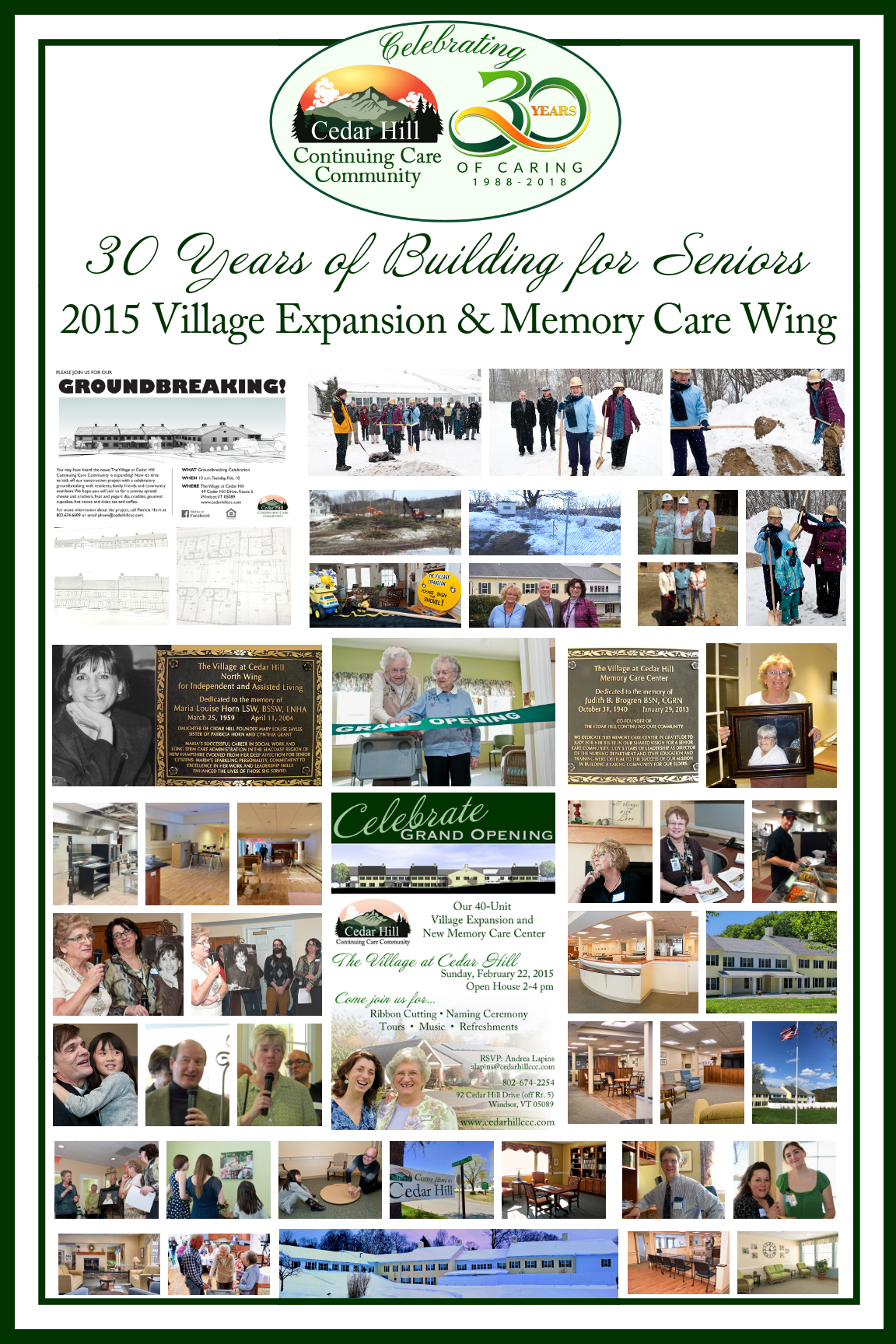 2015 Village Expansion Poster