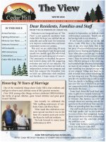 The View Newsletter, Winter 2018 Issue