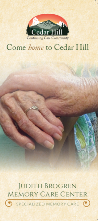 Judith Brogren Memory Care Brochure