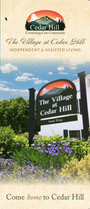 Village at Cedar Hill Brochure