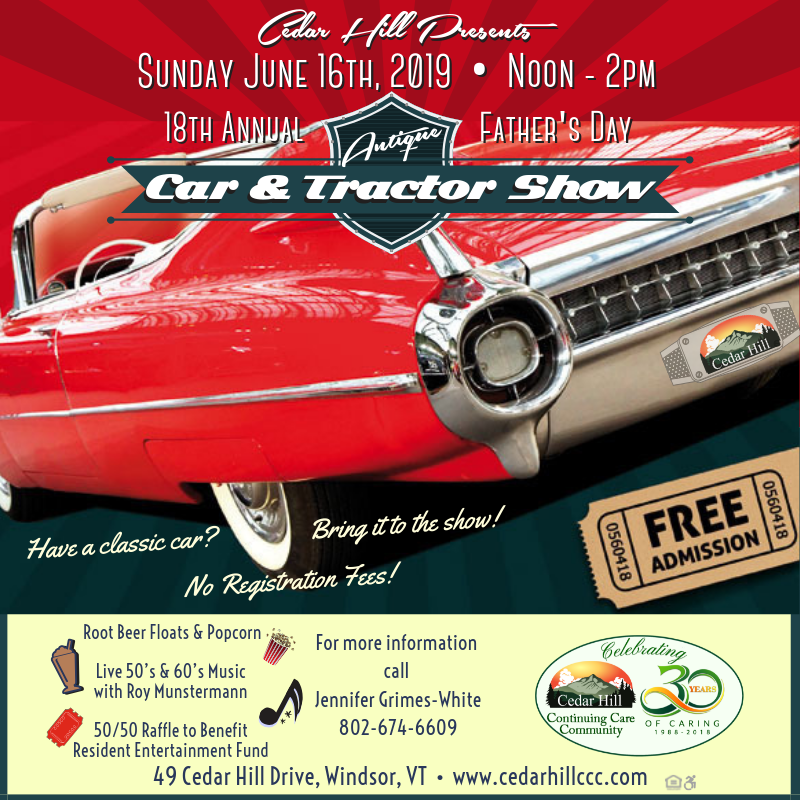 Cedar Hill's 18th Annual Father's Day Car Show
