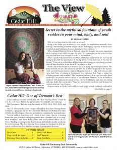 The View - Summer 2019 - Cedar Hill's Quarterly Newsletter