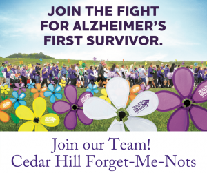 Join Our Team! Cedar Hill Forget-Me-Nots
