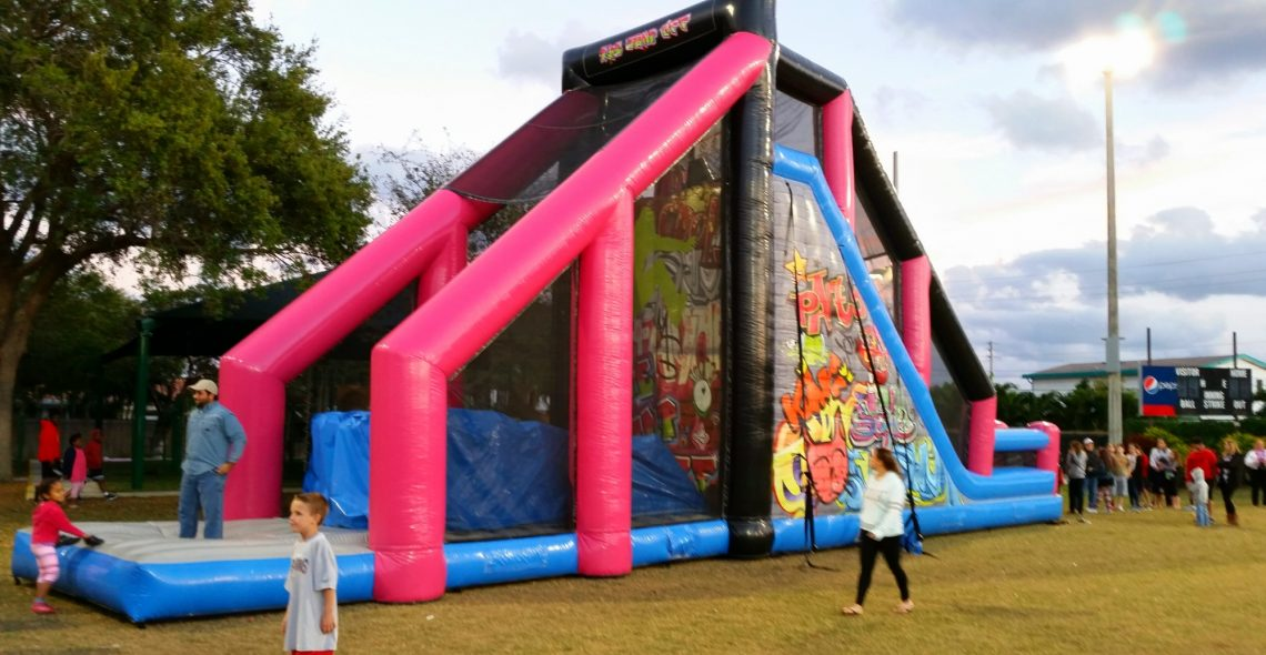 Image result for jump off inflatable