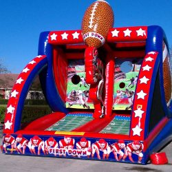 First Down Challenge Inflatable Game Rental - Celebration Source