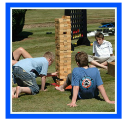 Giant Jenga Party Rental - Celebration Source