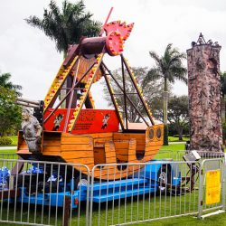 Pirate Ship Swinging Carnival Attraction