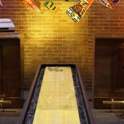 Shuffle Board Table for Rent - Celebration Source