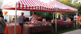 Carnival Food Stand With Candy Apple - Celebration Source