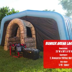 Inflatable Laser Tag Rental