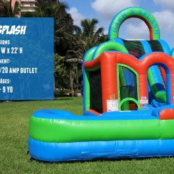 Dash n Splash Inflatable Bouncer