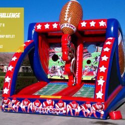 Football Inflatable Game Rental