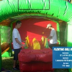 Floating Ball Relay Carnival Game