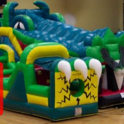 Gator Inflatable Obstacle Course-Rent It!