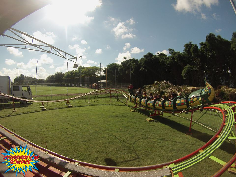View of the Go-Gator Mechanical Ride Rental - Celebration Source