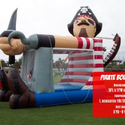 Pirate Bouncer Inflatable Bounce House Rental - Celebration Source