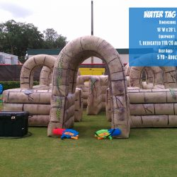 Inflatable Water Tag Maze Rental