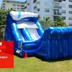 Wild Wave Inflatable Slide Rental