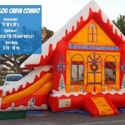 Winter Inflatable Bouncer Rental