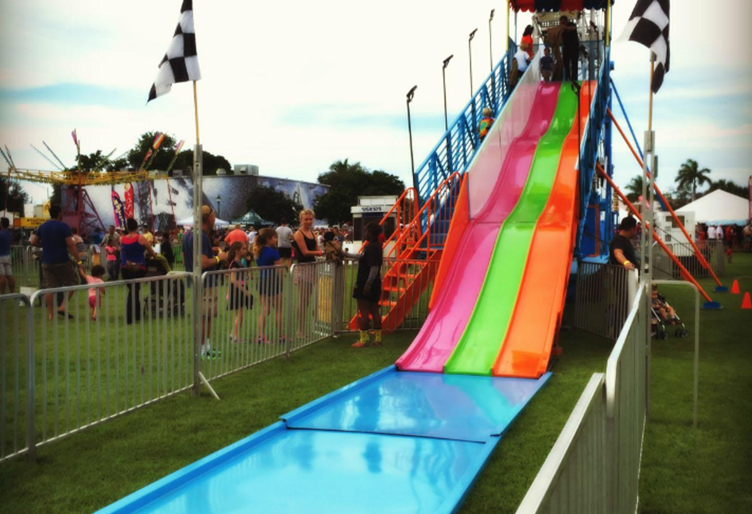 Fiber Slide Party Rental - Celebration Source