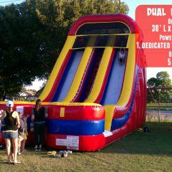 Dual Inflatable Slide-Celebration Source