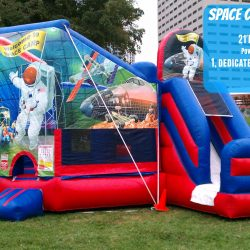 Space Inflatable Slide and Bouncer-Celebration Source