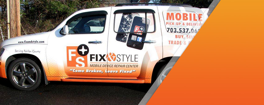 Fix & Style Mobile Device Repair Truck