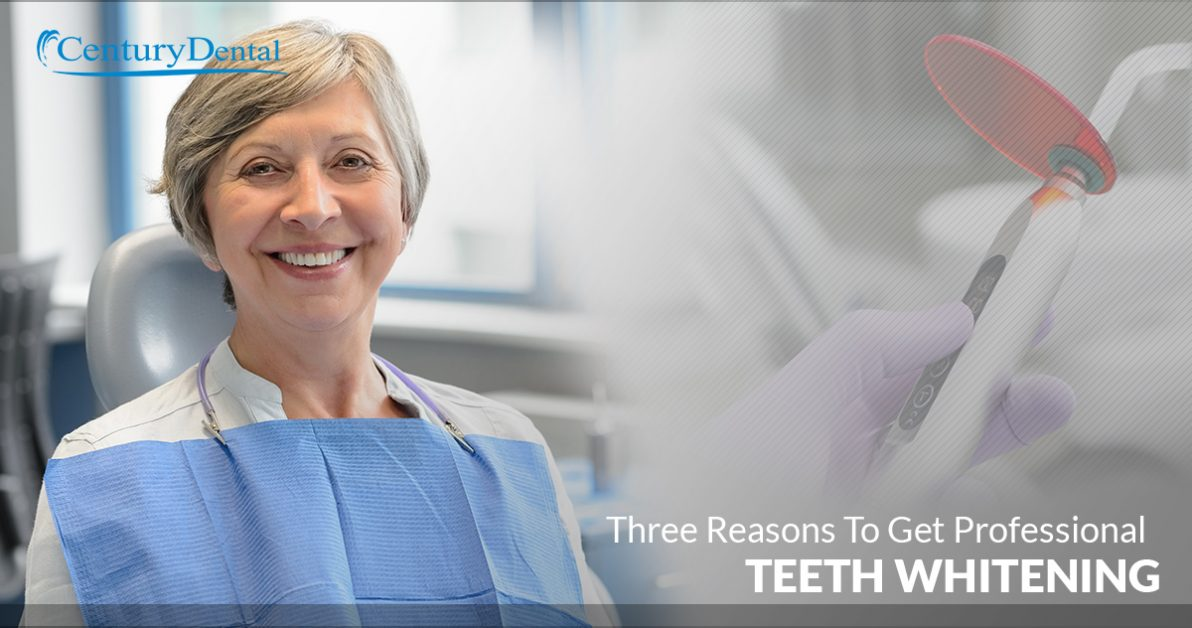 Three Reasons To Get Professional Teeth Whitening