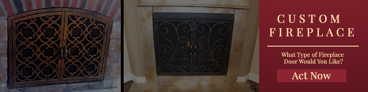 Fireplace Door From Simple To Ornate We Can Make Them All