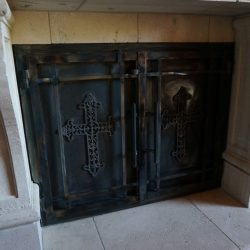 Check out our gallery of custom fireplace doors. If you