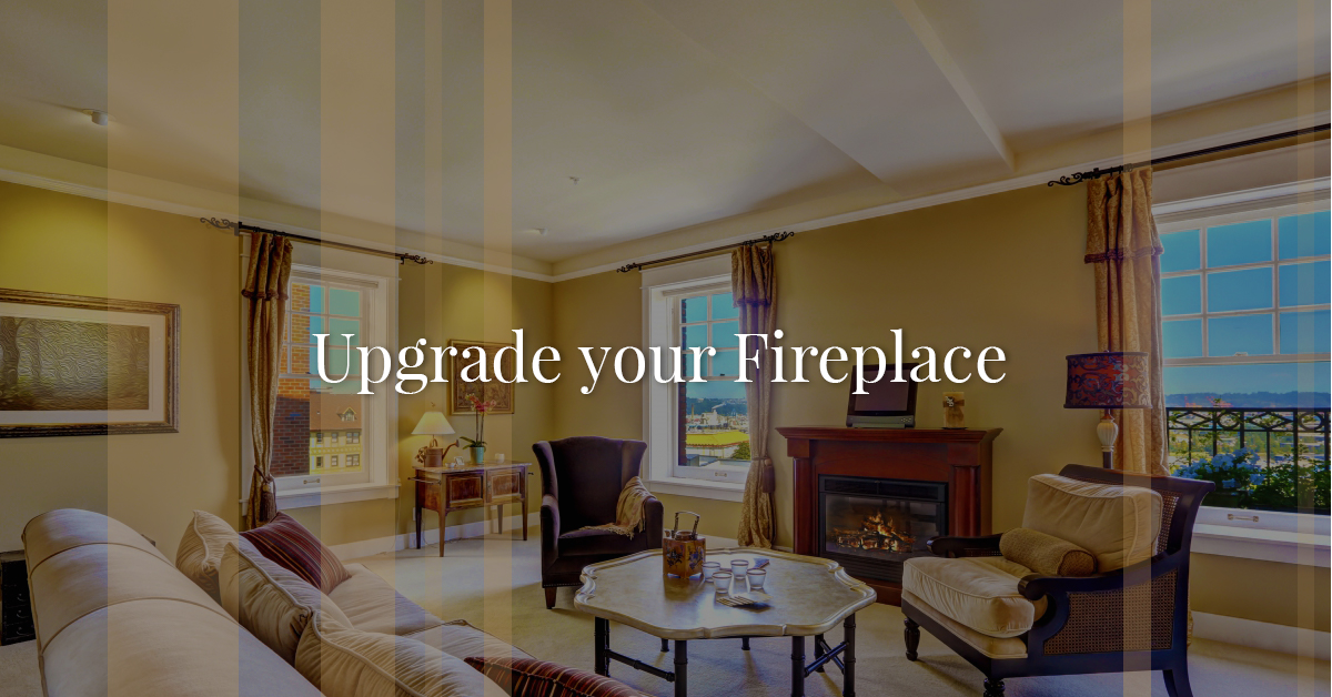 a new fireplace gate complements your home