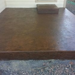 Stamped Concrete Work